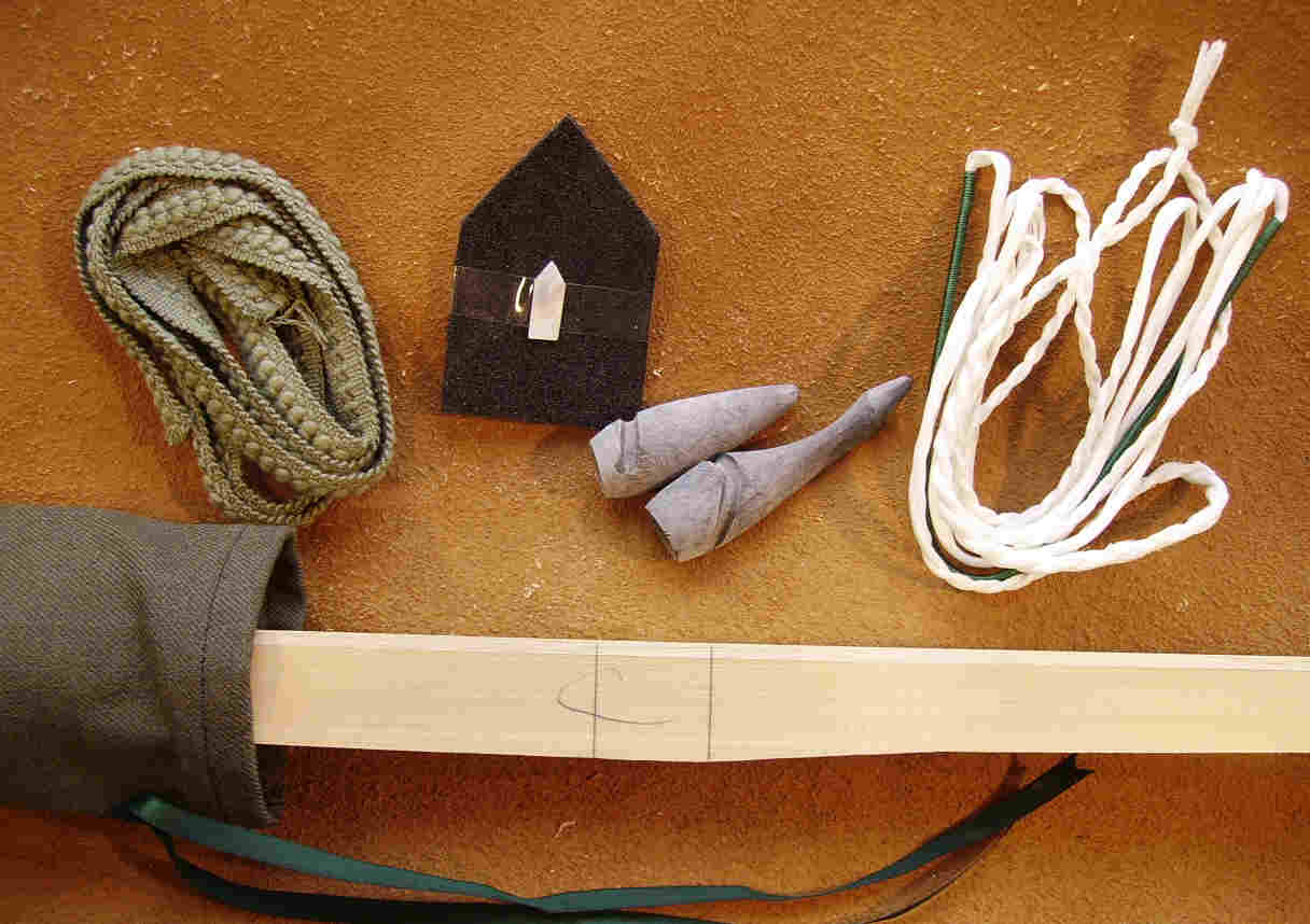 Diy longbow kits by richard head longbows the basic contents of the longbow diy kits solutioingenieria Images